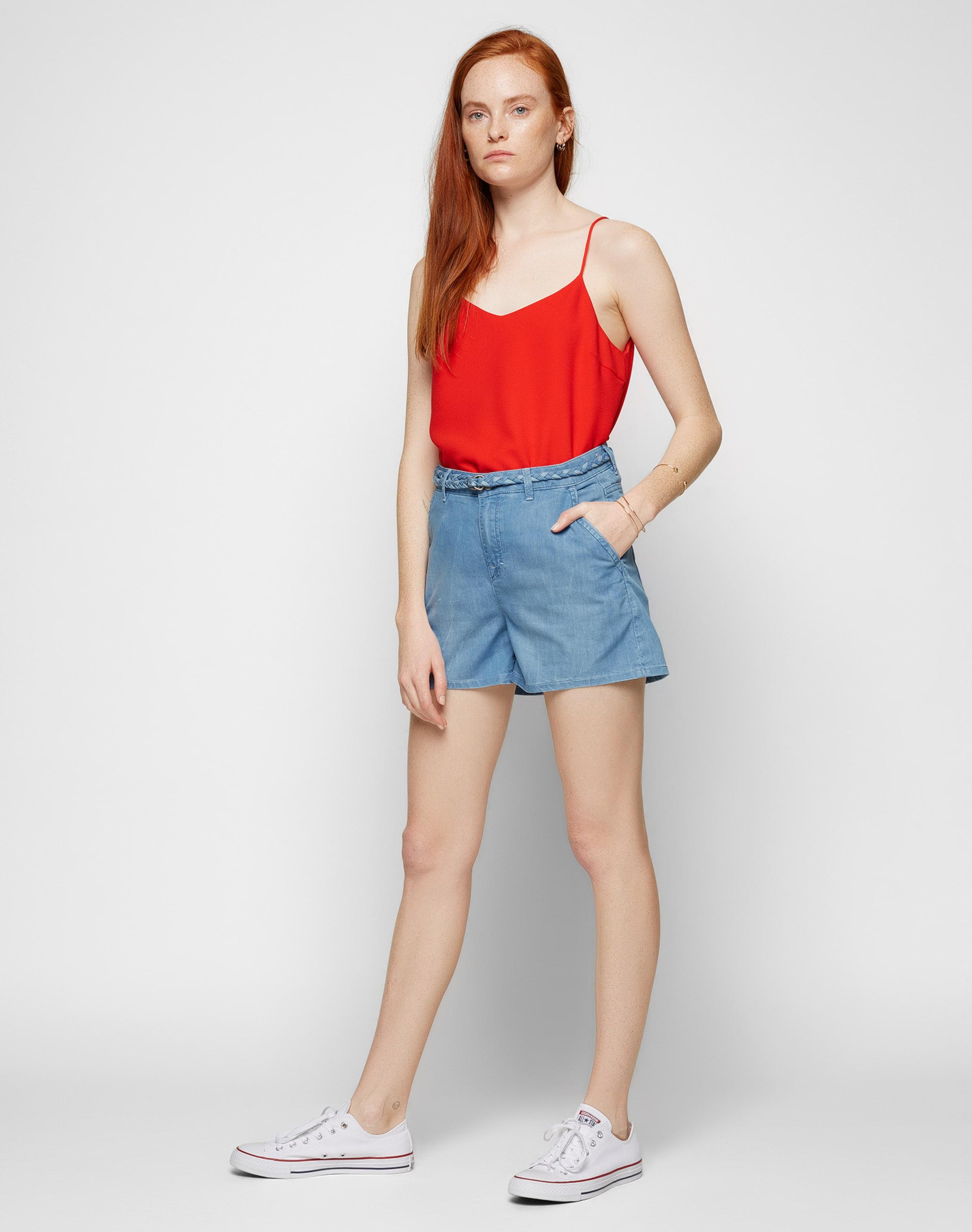 Günstig Kaufen Erschwinglich Erhalten Verkauf Online Kaufen EDC BY ESPRIT 'Denim shorts' Jeans Top Qualität Große Diskont Günstig Online UJL1B9UUl1