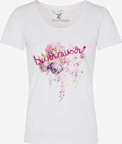 SPIETH & WENSKY Shirt 'Kresse' in helllila / fuchsia / weiß, Produktansicht