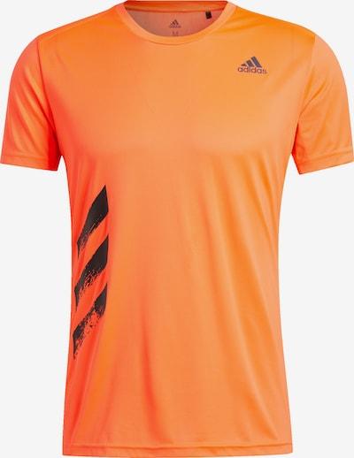 ADIDAS PERFORMANCE Shirt in orange, Produktansicht