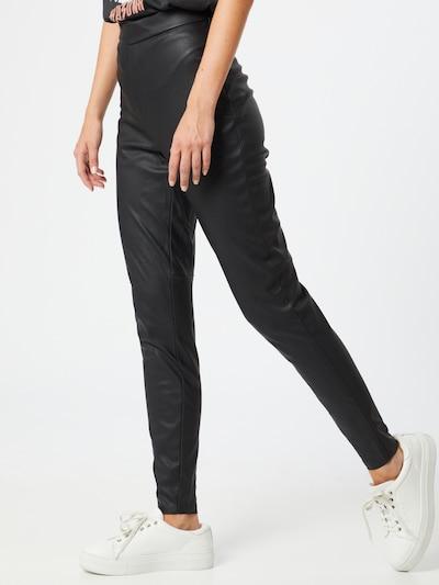 Leggings 'Janni' VERO MODA pe negru, Vizualizare model