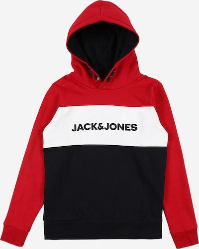 Jack & Jones Junior Pull-over en rouge: Vue de face