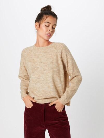 ONLY Sweter w kolorze beżowym, Podgląd na modelu(-ce)