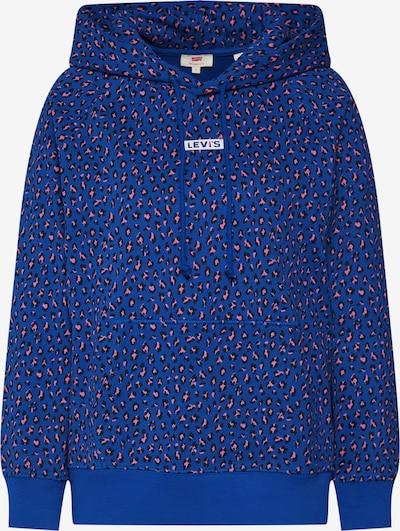 LEVI'S Sweatshirt  'GRAPHIC SPORT HOODIE' in violettblau: Frontalansicht