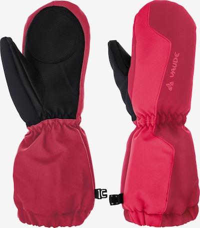 VAUDE Skifäustlinge in pink / dunkelpink / schwarz, Produktansicht