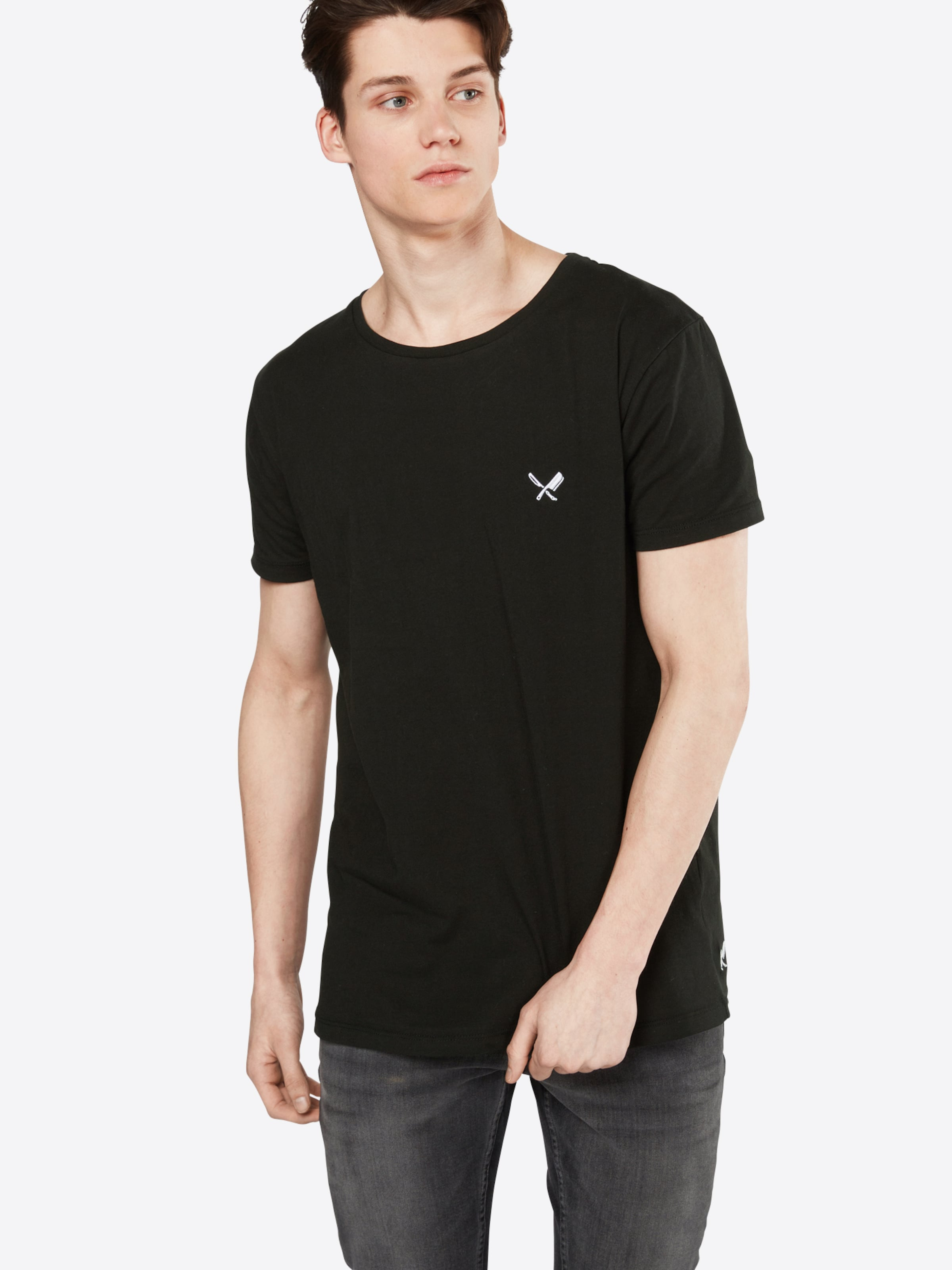 distortedpeople T-Shirt 'Grand Crew Neck' Angebote Verkauf Des Niedrigen Preises S7WenXsf