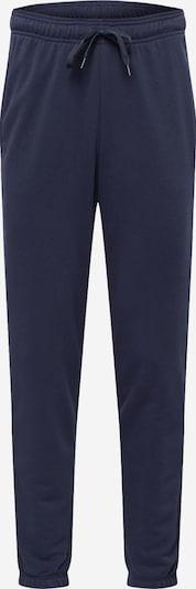 ADIDAS PERFORMANCE Pantalon de sport en bleu marine / blanc, Vue avec produit