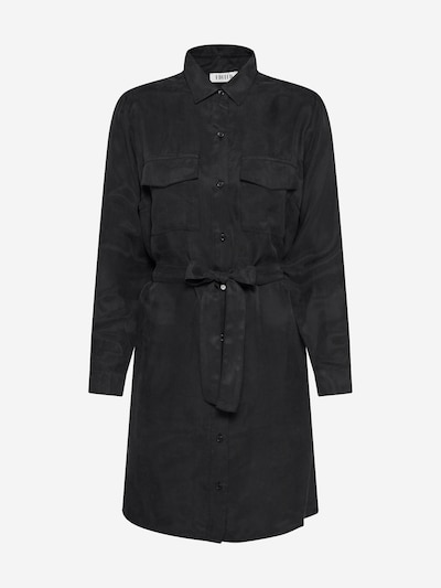 EDITED Shirt dress 'Farha' in black, Item view