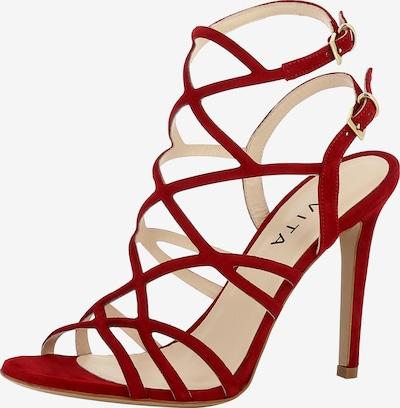 EVITA Sandalette EVA in rot: Frontalansicht