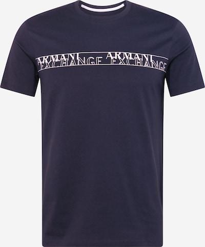 ARMANI EXCHANGE Shirt '6HZTFC' in de kleur Navy / Wit, Productweergave