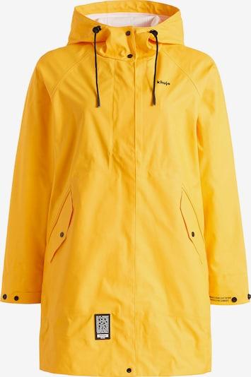 khujo Tussenparka 'Solea' in de kleur Geel, Productweergave