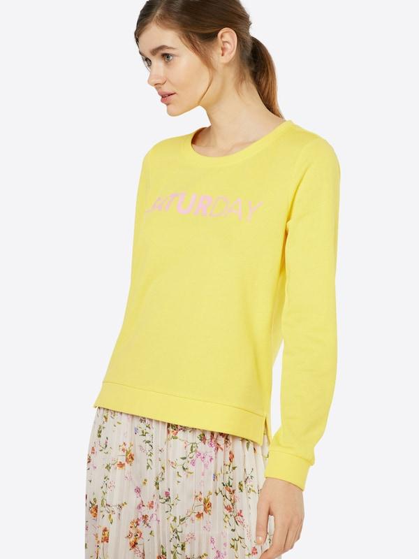 ONLY Sweatshirt 'UNBRUSHED BOX'