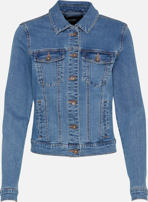 VERO MODA Jeansjacke 'HOT SOYA' in blue denim, Produktansicht