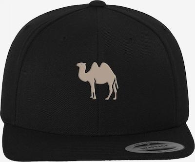 Mister Tee Cap in camel / schwarz, Produktansicht