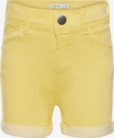 NAME IT Shorts 'NMFSALLI TWIATINNA' in gelb, Produktansicht