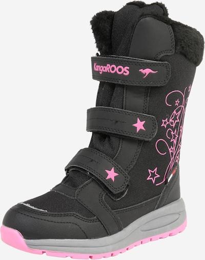 KangaROOS Snowboots 'K-Star' in pink / schwarz, Produktansicht