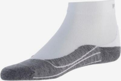 FALKE Športové ponožky 'RU4 Short' - sivá / biela, Produkt