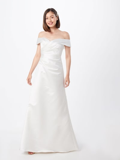 STAR NIGHT Společenské šaty - přírodní bílá, Model/ka