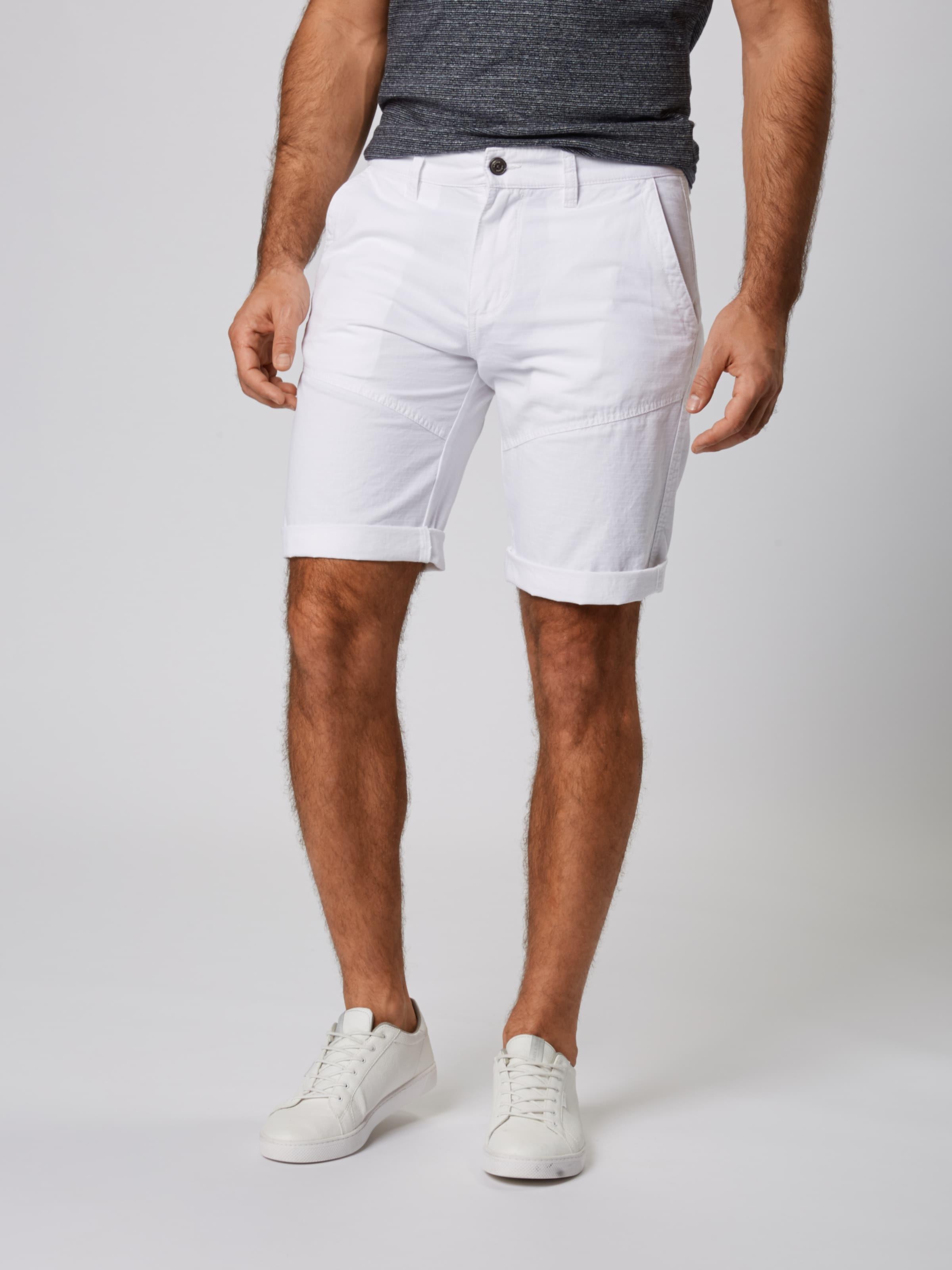 Shorts Label S Weiß oliver Red In lK1JcFT