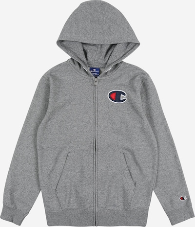 Champion Authentic Athletic Apparel Sweatjacke 'Hooded Full Zip Sweatshirt' in graumeliert, Produktansicht