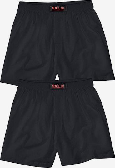 H.I.S Boxers en noir, Vue avec produit