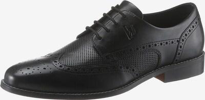 BRUNO BANANI Schnürschuh in schwarz, Produktansicht