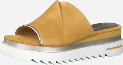 MARCO TOZZI Mule en jaune, Vue avec produit