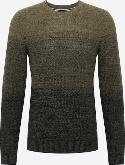 JACK & JONES Pullover 'Graham' in oliv / schwarz, Produktansicht