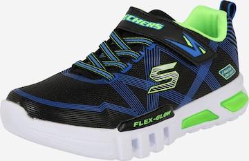 SKECHERS Sneaker 'Flex-Glow' in Schwarz