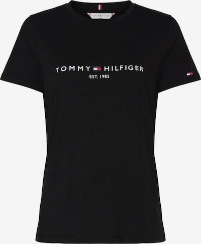 TOMMY HILFIGER Tričko - čierna / biela, Produkt
