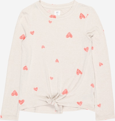GAP Shirt in beige / rot, Produktansicht