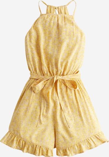 HOLLISTER Jumpsuit in de kleur Geel / Wit, Productweergave