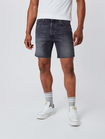 LEVI'S Shorts '501® '93' in black denim, Modelansicht