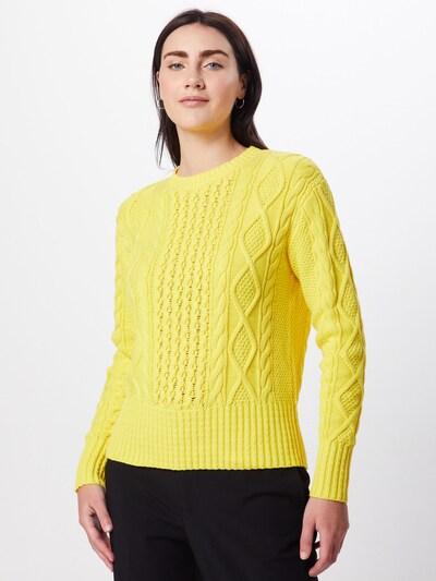 POLO RALPH LAUREN Sweter 'LS PO-LONG SLEEVE-SWEATER' w kolorze żółtym, Podgląd na modelu(-ce)