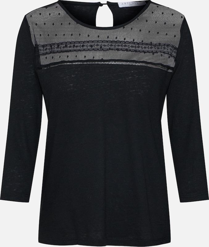 Zwart '36151' Shirt In Artlove Paris byYf6gv7