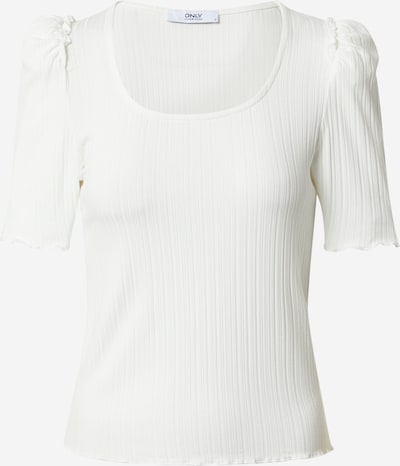 ONLY Shirt 'PRETTY' in de kleur Offwhite: Vooraanzicht