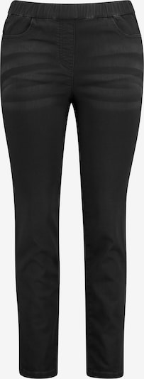 SAMOON Jeggings in de kleur Black denim, Productweergave