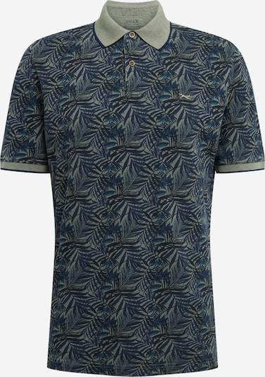 BRAX Shirt 'Pietro' in blau / oliv, Produktansicht