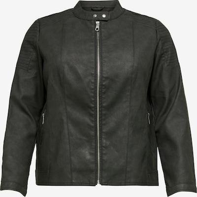 ONLY Carmakoma Lederjacke in schwarz, Produktansicht