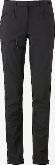 MAMMUT Softshellhose 'Courmayeur' in schwarz, Produktansicht