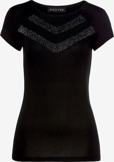 MELROSE T-Shirt in schwarz, Produktansicht