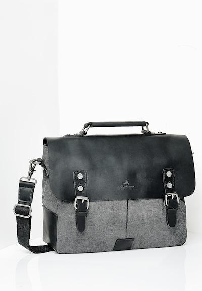 DREIMASTER Tasche in anthrazit / graumeliert, Produktansicht