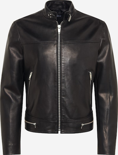 The Kooples Lederjacke in schwarz, Produktansicht