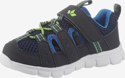 LICO Sneaker in blau / grün, Produktansicht