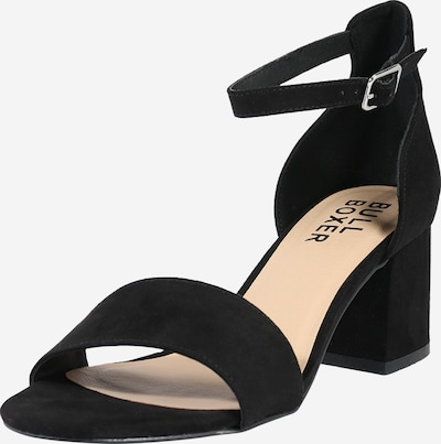 Sandale cu baretă BULLBOXER pe negru, Vizualizare produs