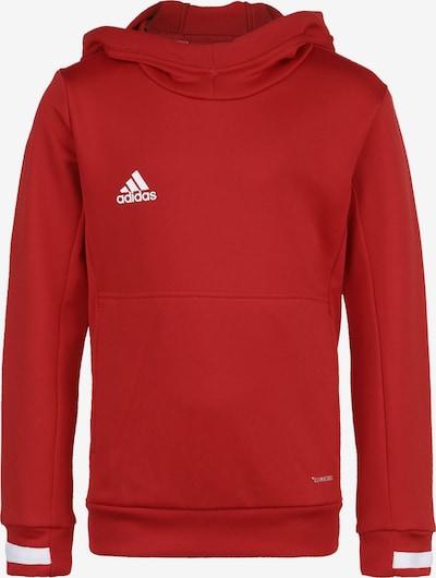 ADIDAS PERFORMANCE Pullover 'Team 19' in rot / weiß, Produktansicht