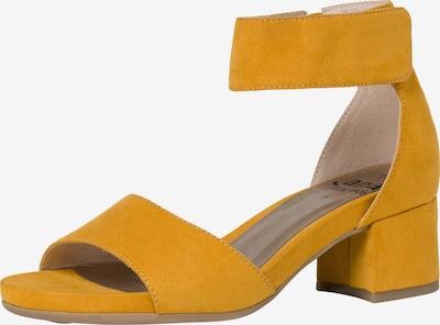 JANA Sandales en jaune, Vue avec produit