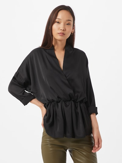 Unique21 Bluse in schwarz, Modelansicht