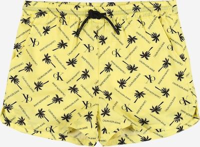 Calvin Klein Jeans Shorts in gelb, Produktansicht