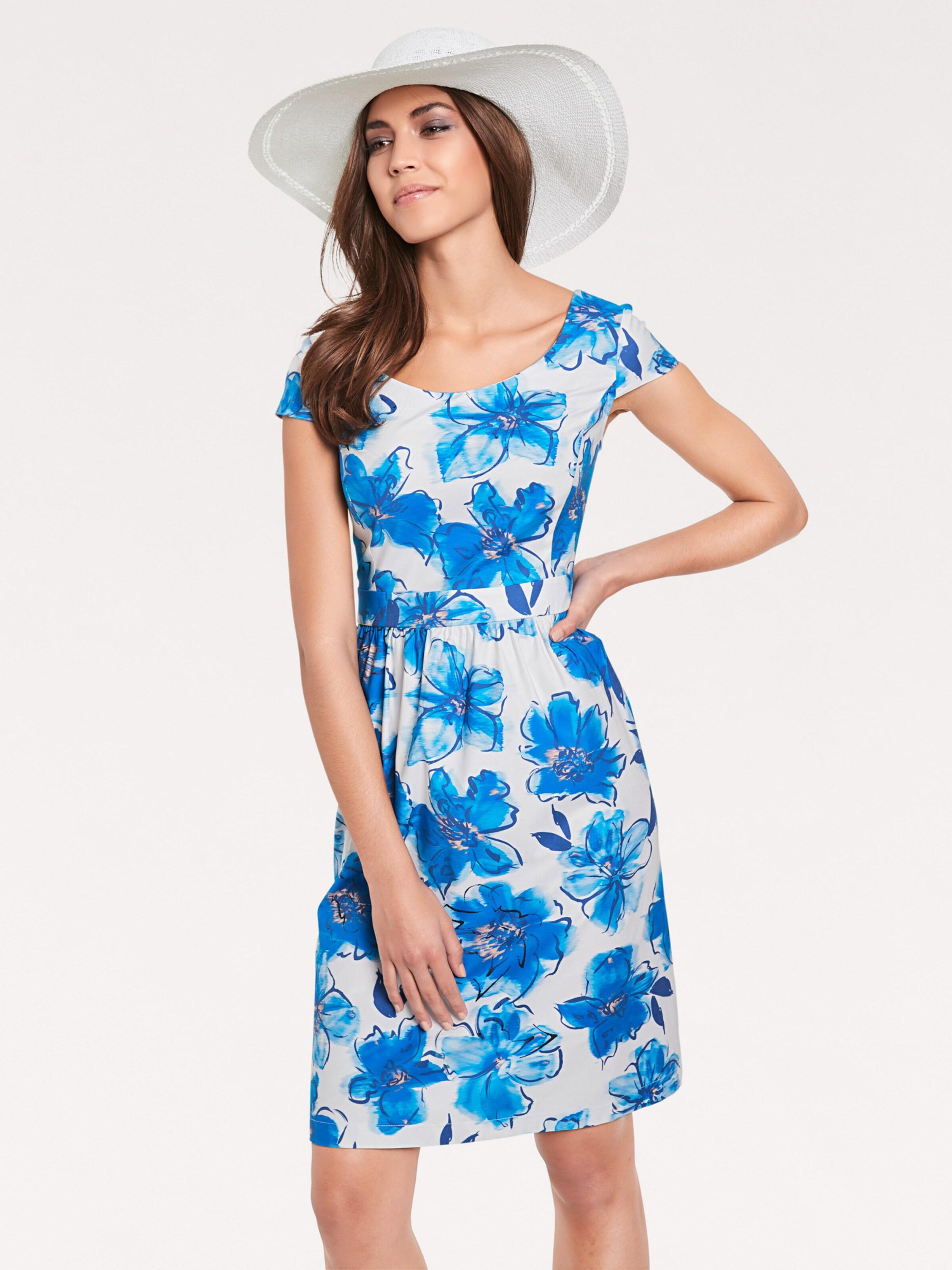 Kleid In Heine Kleid In BlauWeiß Heine kZiuPXTO