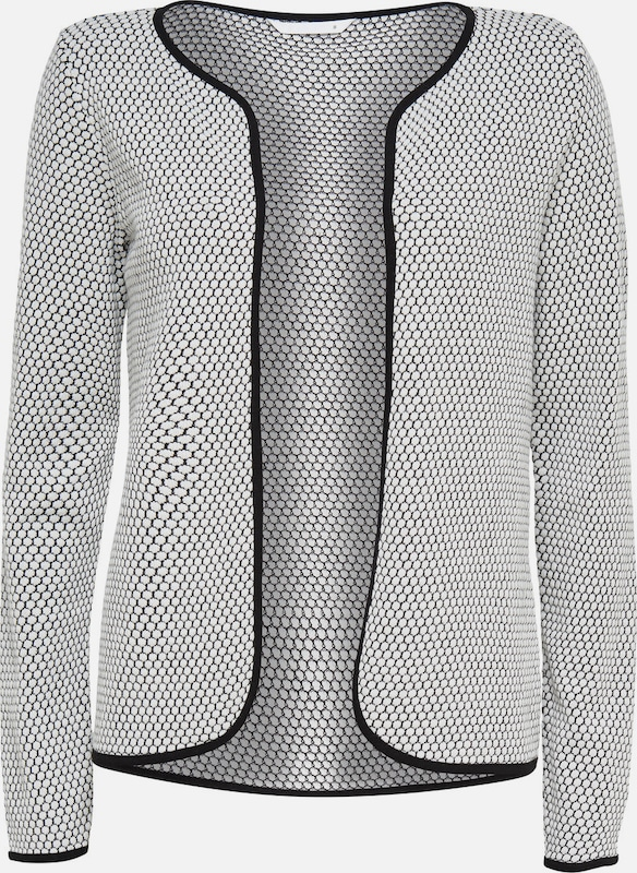 ONLY Kurzer Strickcardigan in grau, Produktansicht